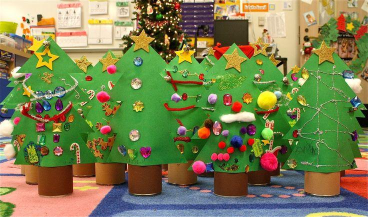 DIY: Tin Can Χριστουγεννιάτικα Δέντρα | MADE