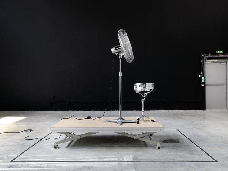 ventilador, tambor y gotera del techo. fernando ortega - Artistas - Kurimanzutto