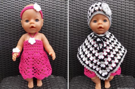 Kleren voor Baby Bron pop (met link naar gratis patronen) / clothes for Baby Bron doll (with link fo free patterns)