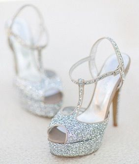 Glittery Heels for #Prom2014 #prom #homecoming