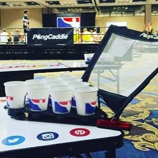 Throw Back! Official Sponsors of the World Series Of Beer Pong Vegas 2016! #beerpong #beer #saveyourballs #college #tailgating #tailgate #football #ineedthis #pongcaddie #ponglife #greeklife #redcup #thehangover #vegas #beach #bbq #christmasgift #christmas #2016