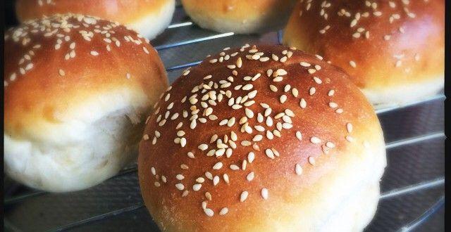 Hamburger broodjes recept ⋆ Es' Factory
