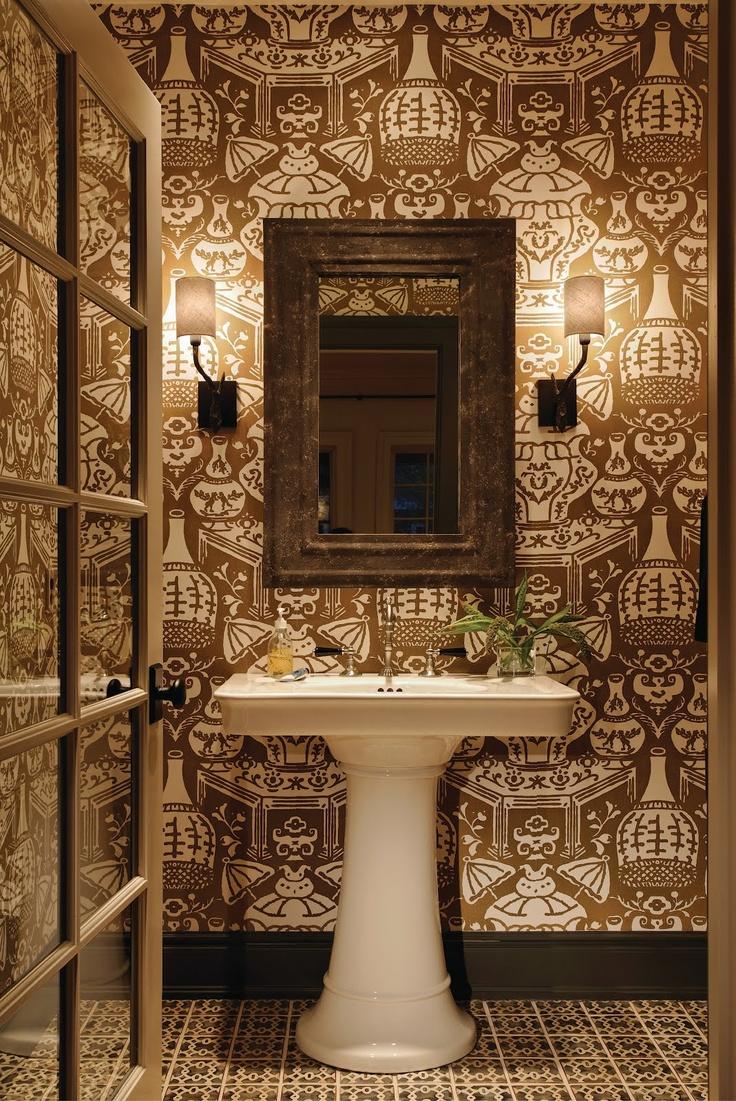 97 best Brown Bathrooms images on Pinterest