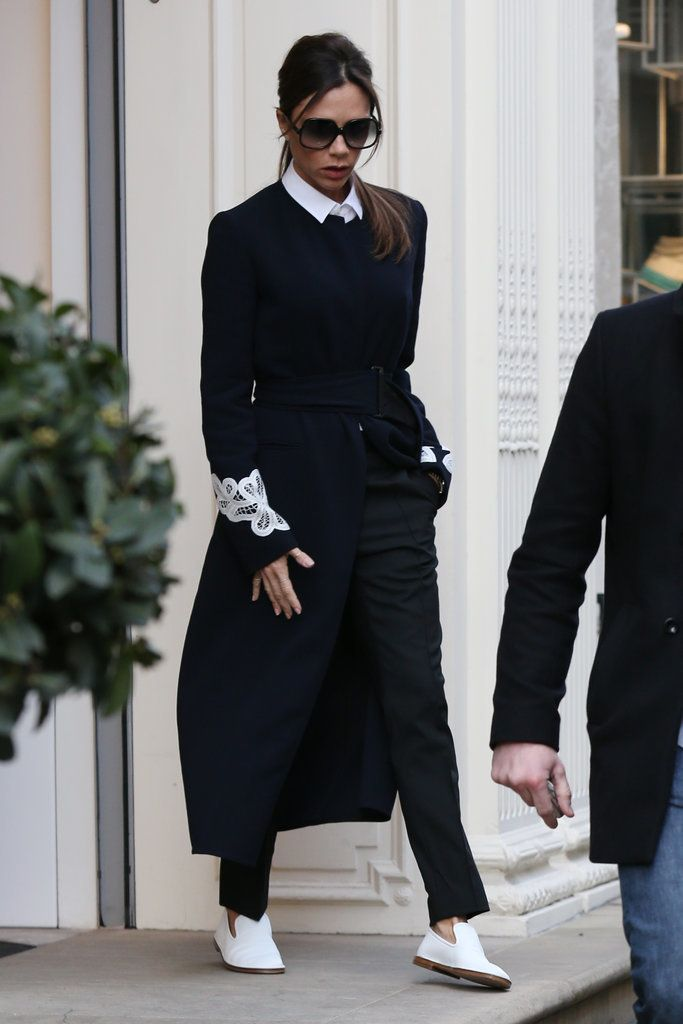 f0f6493726 Victoria Beckham Just Took Her Love of Flat Shoes to a Crazy New Height