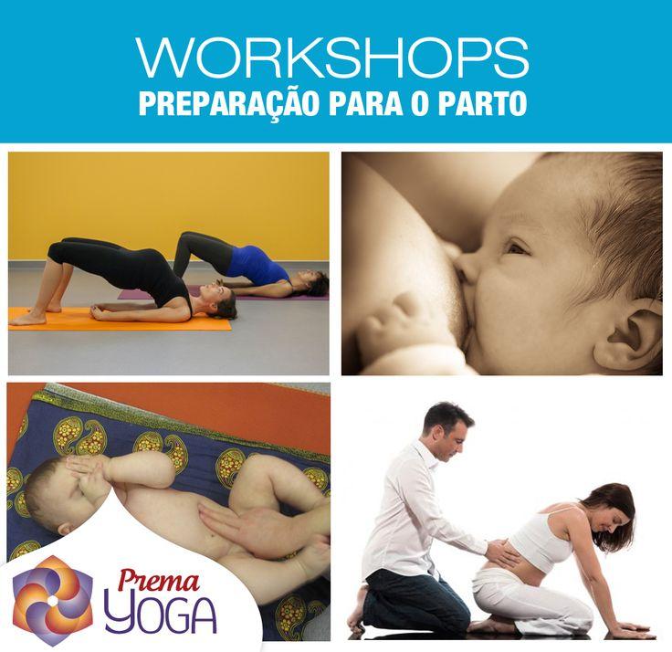 Workshops de preparação para o parto