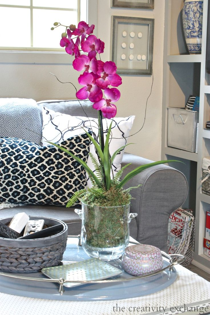 Quick trick for where to find good silk orchids and how to repot them to look real.  The Creativity Exchange
