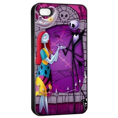 Nightmare Before Christmas Apple iPhone 4/4s Seamless Case Cover Black ...
