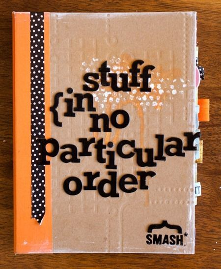 i would like to try to do smash book ,i think book full with ewerything random would be great to start with