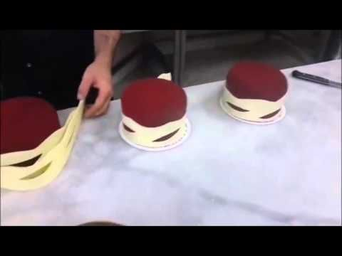 How To Make Chocolate Garnishes Decorations CAKE beautiful 2015 - YouTube