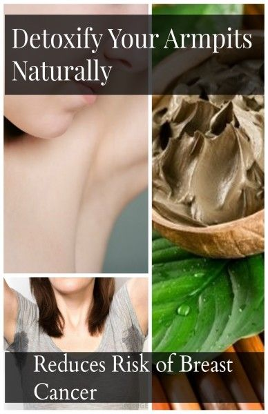 How to Stop Sweaty Armpits? - Reduce Your Risk of Breast Cancer by Detoxifying Them Naturally