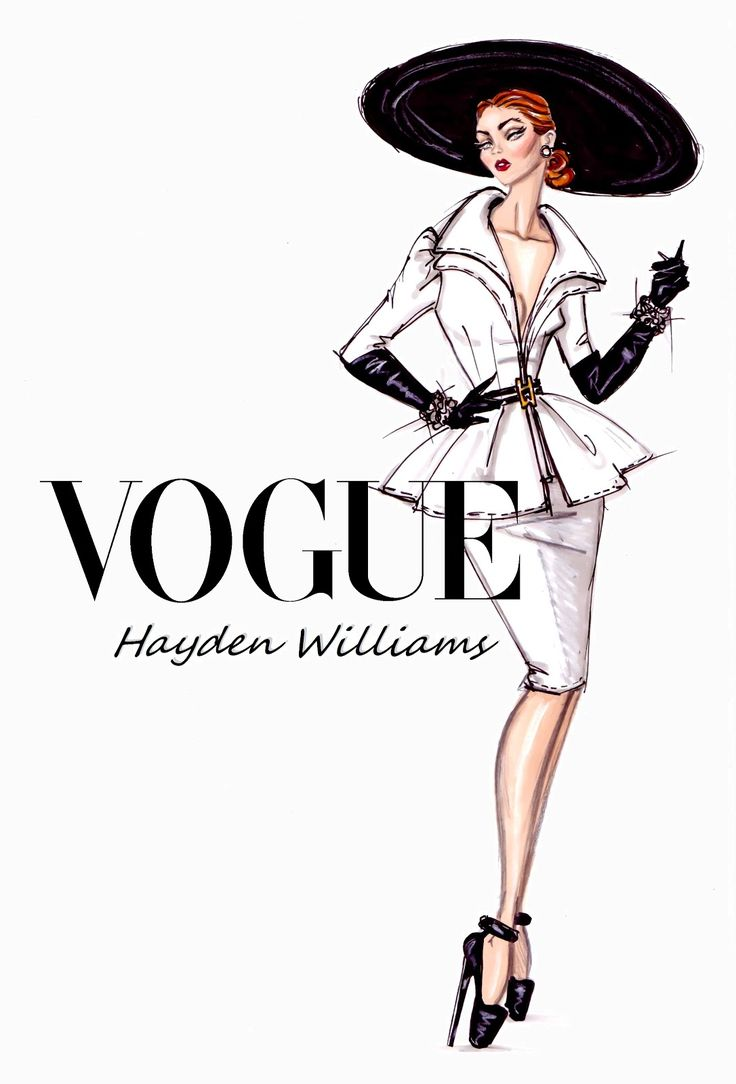 #Hayden Williams Fashion Illustrations: #'Suits Her Well' by Hayden Williams