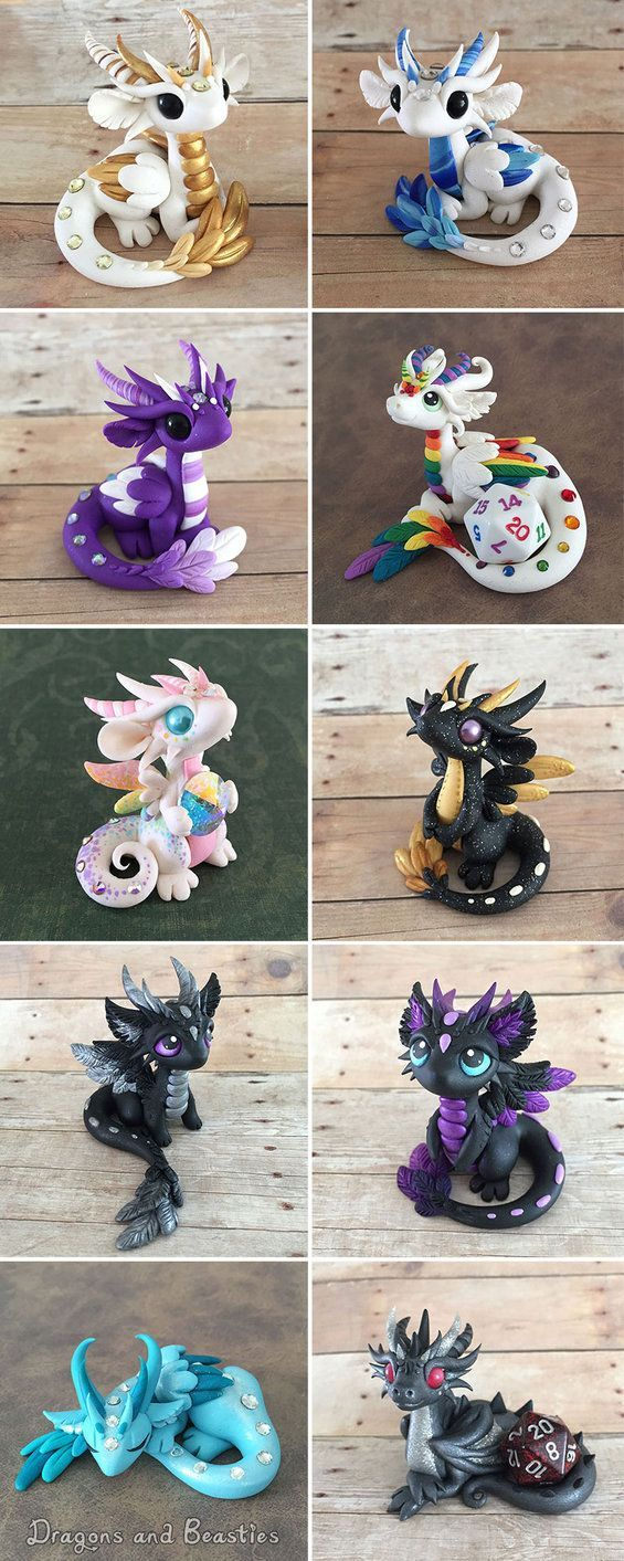 Angel Dragons! These guys will be up tomorrow, Sunday July 17th @ 3pm MST. Half will go on etsy and half to ebay auction. Which is your favorite?  To keep updated on the sale please check out ...