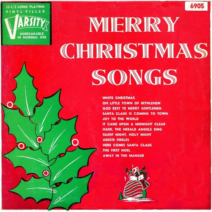 Merry Christmas Song Holliday