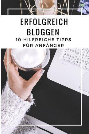 """BLOG ERSTELLEN: """"Diese 10 Fehler sollten Blog-Anfänger vermeiden!"""" – Bloggen"""