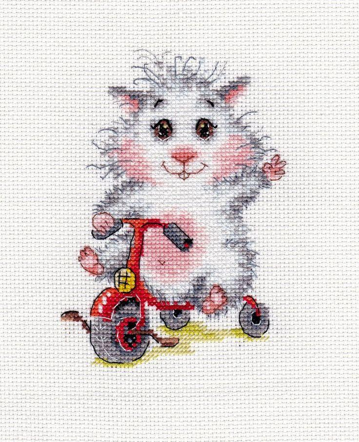 Riding a three-wheeler by Thriin