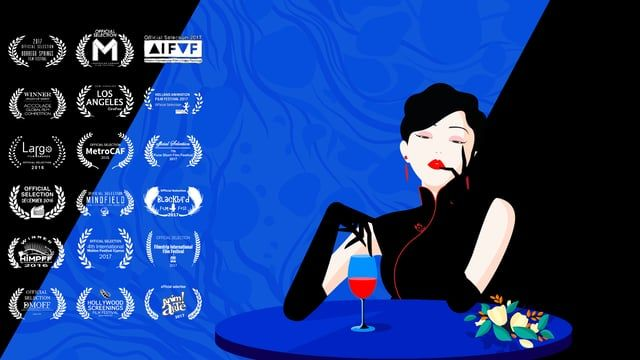 """""""Luscious"""" is a 2D motion graphics video looks at human nature, human instinct and the power of imagination. Minimally styled illustrations tell the story of a beautiful woman who achieves satisfaction by having a psychedelic, metaphoric, sensual journey during dinner. The film's goal is """"not only deliver pleasure images but raise the spectre of unlimited pleasure.""""    2016 School of Visual Arts, MFA Computer Art Student Independent Film  Software: Illustrator/ Photoshop/ After Effects ..."""
