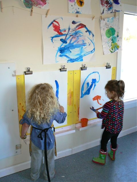 93 Best Images About Kids Art Spaces On Pinterest