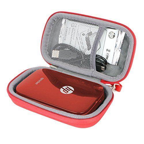 Étui de Voyage Rigide Housse Cas pour HP Sprocket Imprimante Photo portable par co2CREA (Noir) (Rouge) #Étui #Voyage #Rigide #Housse #pour #Sprocket #Imprimante #Photo #portable #coCREA #(Noir) #(Rouge)