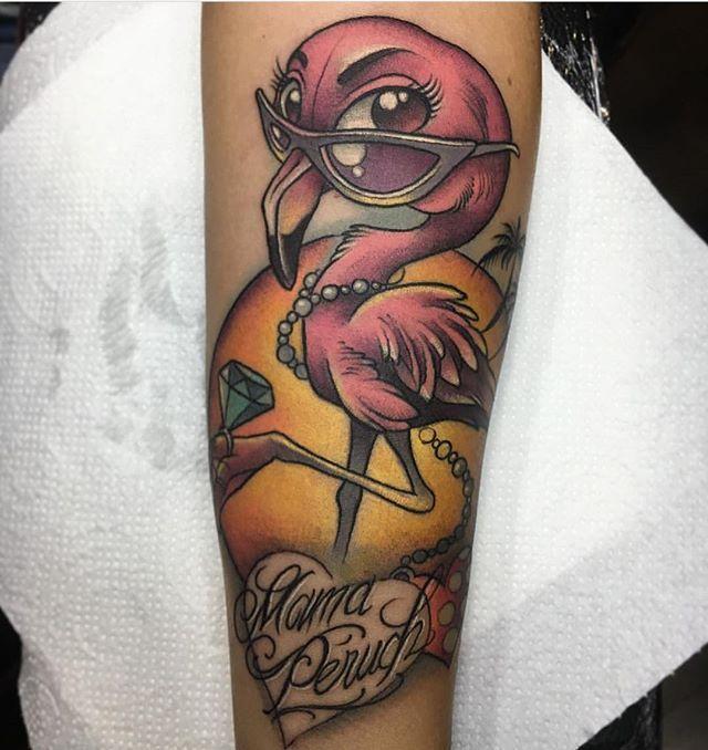 L21 Tattoo done by @enriklefrik  Loyalty Tattoo Bcn C/ Vallfogona 10 Bcn 932130816 Loyaltytattoobcn@gmail.com  #flamenco #flamingo #pink #newschool #color #rosa #comic #tattoo #tattoos #inked #tattooed #balmtattoo #amazingink #photooftheday #tatted #instatattoo #tatts #bodyart #art #barcelona #bcn #ink #tatuaje #pic #photo #tattooist #loyalty #loyaltytattoo #loyaltytattoobcn #loyaltytattoobarcelona…