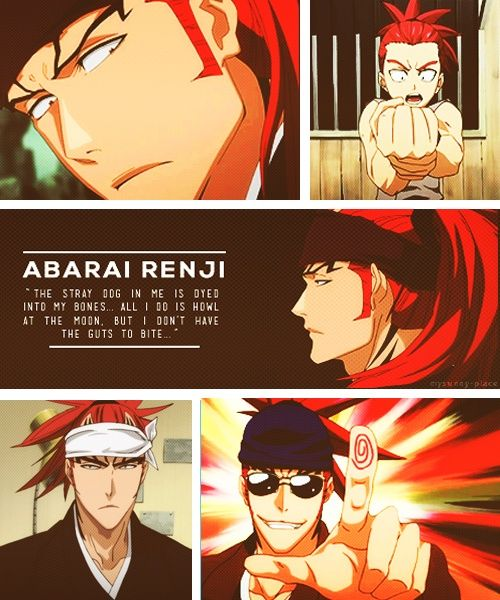 I love how Renji has moments where he says something that has true meaning in the middle of all his stupidity.