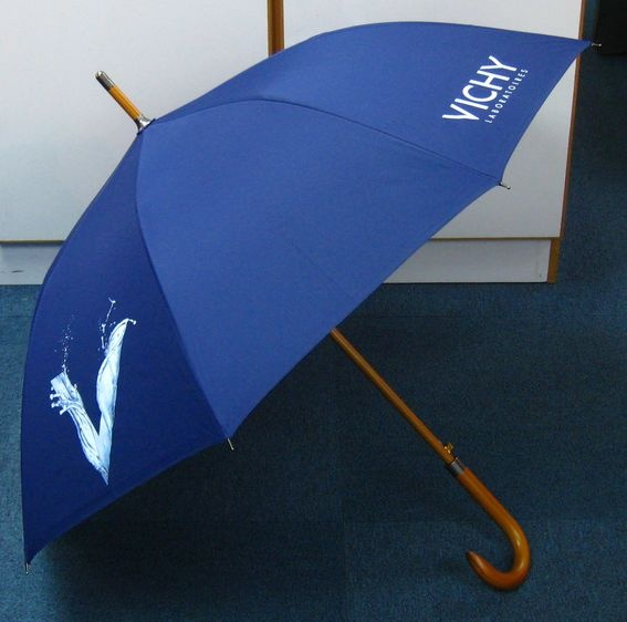 Branded Vichy umbrella