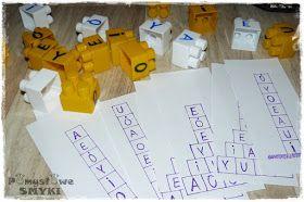 Pomysłowe Smyki: Samogłoski - nauka czytania przez zabawę