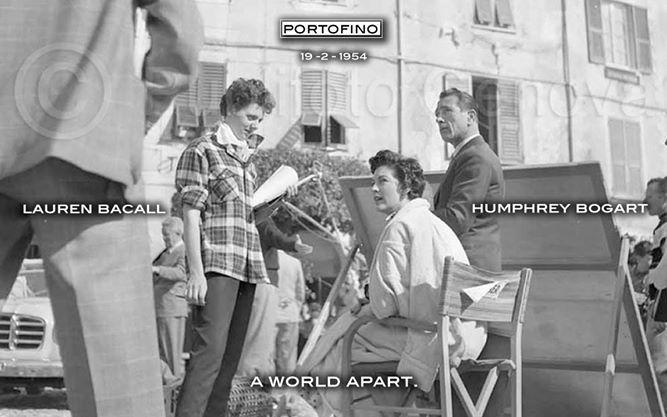 1954: LAUREN Bacall, HUMPHREY AND PORTOFINO. WHAT'S ELSE?