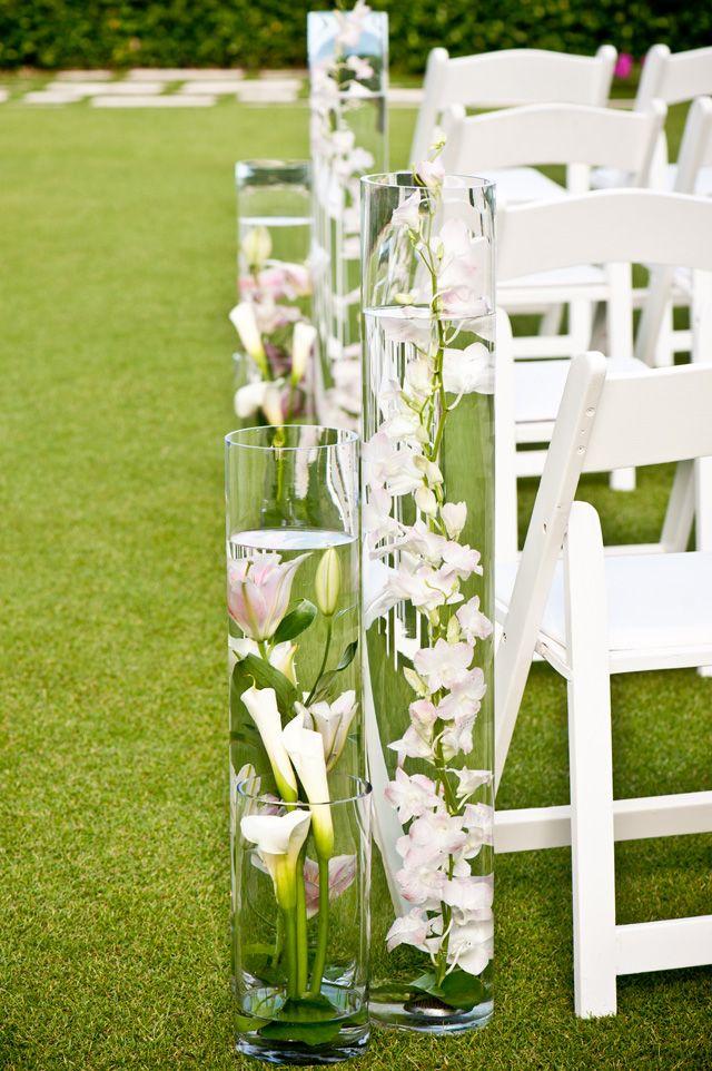 Breakers Wedding by Palm Beach Photography (10)Palms Beach, Floating Flowers Lov, Flower Ideas, Ceremonies Ideas, Beach Photography, Awesome Isle, Flower Aisle, Aisle Decor, Flower Submerged