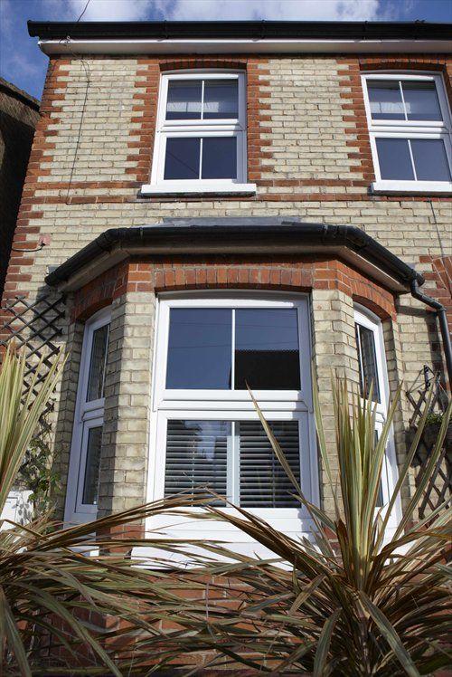 REHAU uPVC Casement Windows in traditional Victorian terraced property.    www.rehauhome.com