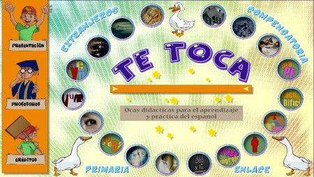 La oca de la lengua: Segundo Ciclo, Juego De, De Lengua, Lengua Española, Tongue, La Oca, Of The, Oca De, Te Toca