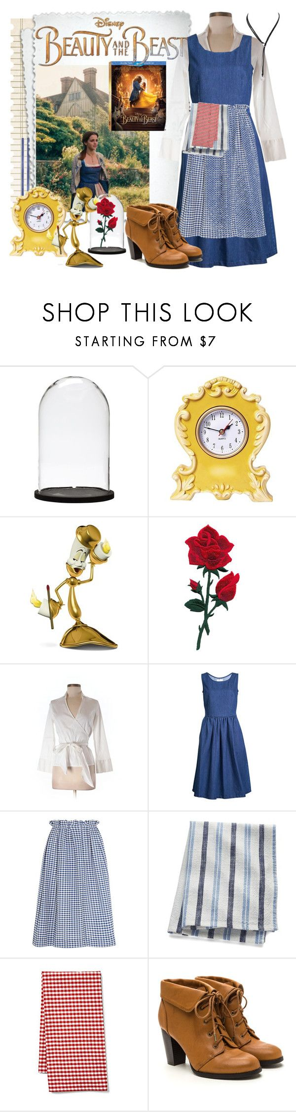 Beauty and the beast by pinkice ❤ liked on polyvore featuring disney emma