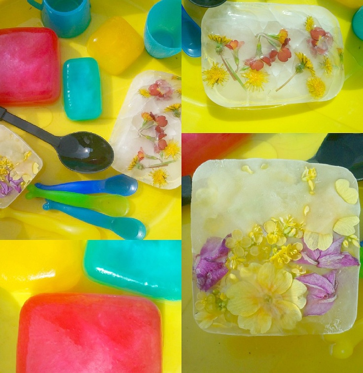 Playful Learners: sensory play with ice