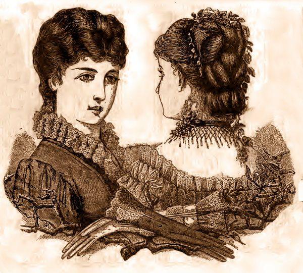 Ladies Hairstyles Wedding Victorian Hair Hairdos Bridal Styles Hairs Front