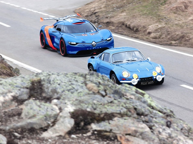 Renault's Original Alpine Hits the Roads with the Alpine A110-50: Alpin A11050, The Roads, Alpin Driving, Super Cars, Alpin A110 50, Renault Alpine, Renaultalpin, Dreams Cars