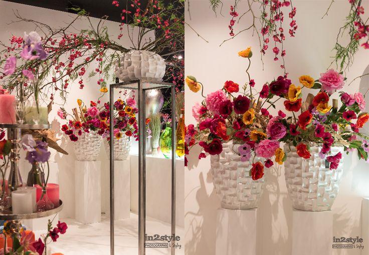 grote vaas met kunstbloemen - Google zoeken