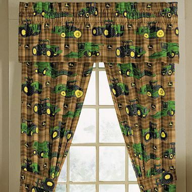 John Deere® Tractor And Plaid Window Coverings   Jcpenney