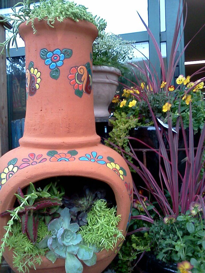 succulent chiminea - Bing Images