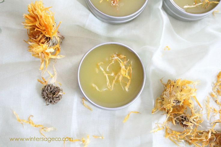 How to make a simple healing salve. herbal remedies, dry, chapped, cracked skin, diaper rash. easy, diy tutorial. winter sage company.