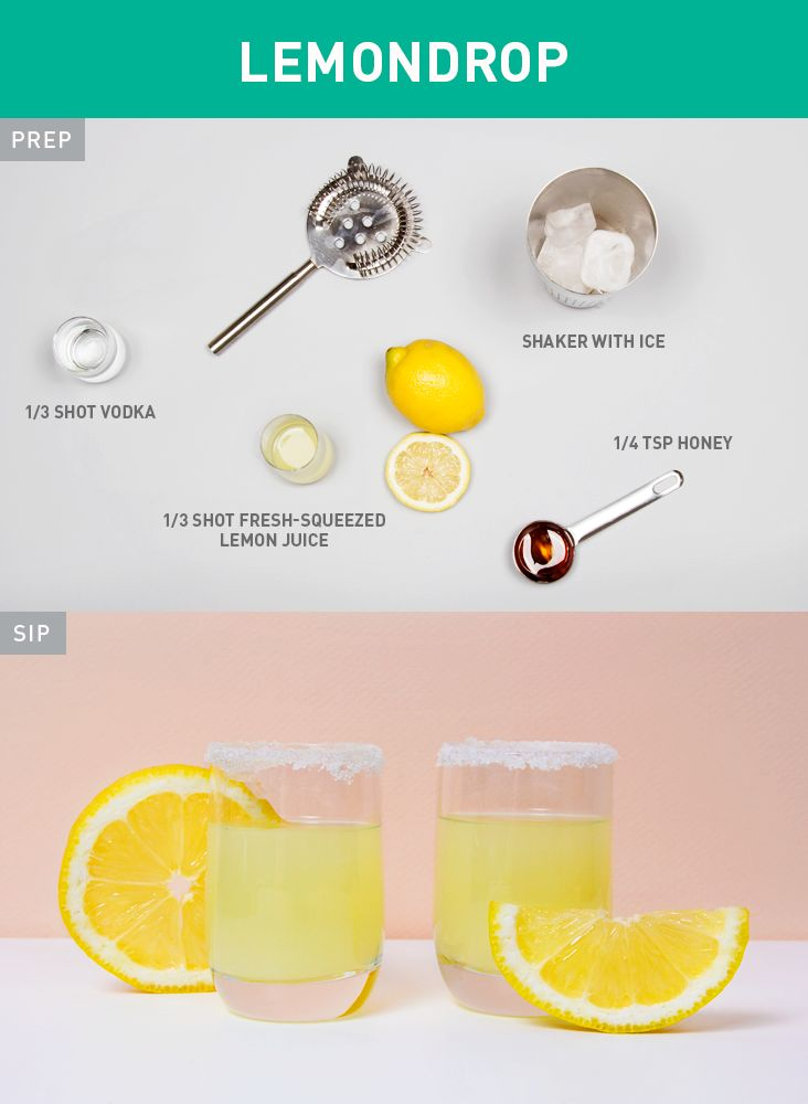 Shots, spritzers, cocktails, and more—we rounded up 60 of the healthiest alcoholic drink recipes out there.  http://greatist.com/health/60-healthier-drinks-boozing