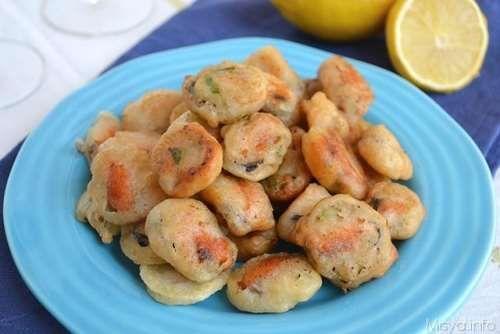 Ricette Antipasti estivi Cozze in pastella