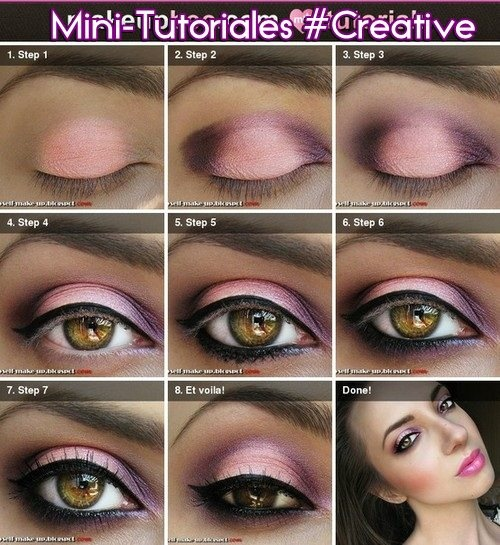 little girls makeup ideas. i love pink make-up. always seem to wear make-up! it makes my eyes pop! step-by-step tutorial on cute little girls makeup ideas c