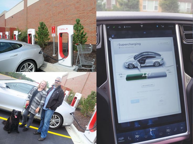 The first Tesla charging station in the Twin cities opened Sept. 13 at the HyVee in Oakdale.  - CLICK TO READ MORE