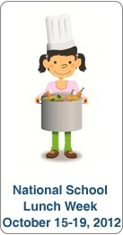 How You Can Celebrate National School Lunch Week- and beyond! Great tips.