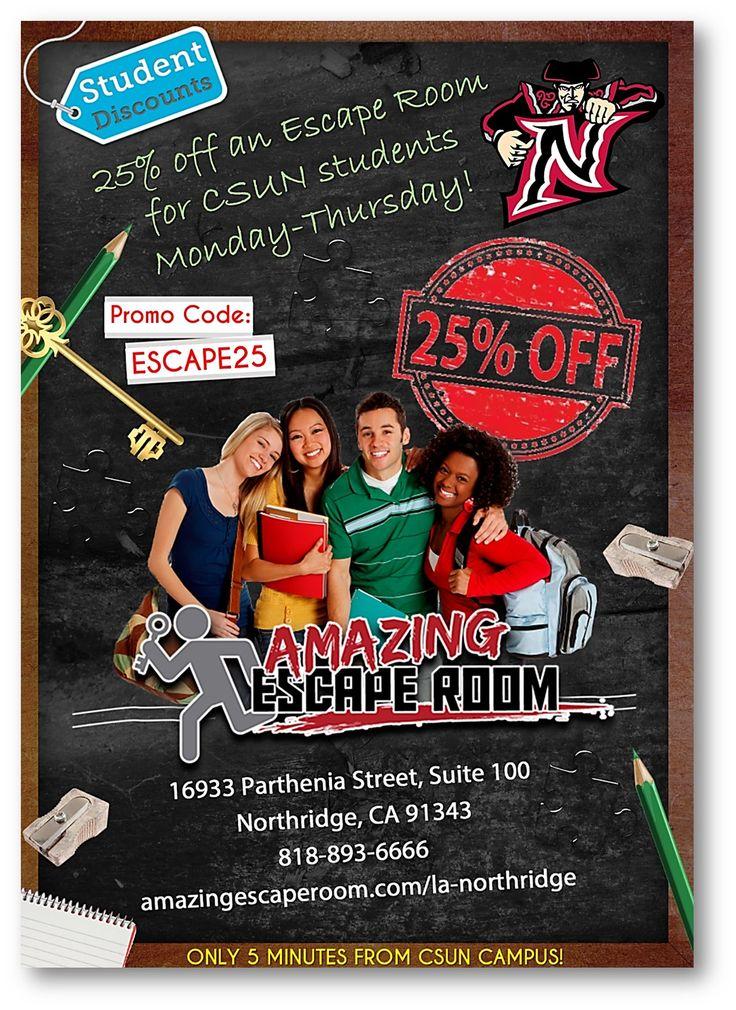 Square Room Escape Discount Code