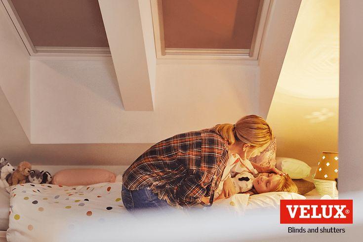 ¿A tus niños les cuesta dormir a pesar de la estricta rutina a la hora de acostarse?  La iluminación exterior podría ser el problema! Por suerte, nuestras persianas pueden ayudarte: http://www.velux.com/products/blinds-and-shutters