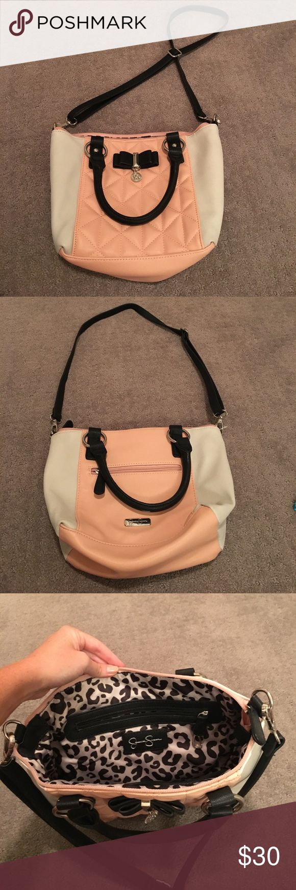 Jessica Simpson Cross body bag Never worn! It's a medium size cross body bag. Jessica Simpson Bags Crossbody Bags
