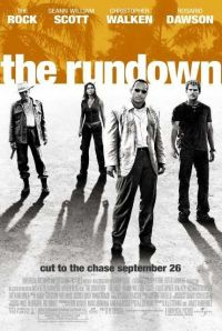 The Rundown (also known as Welcome to the Jungle) is a 2003 American action comedy film starring Dwayne Johnson as a bounty hunter who must head for Brazil to retrieve his employer's renegade son (Seann William Scott). It was directed by Peter Berg.  #therock #dwaynejohnson #therundown #seanwilliamscott #stifler #rosariodawson #christopherwalken #southamerica #brazil #hitman #bountyhunter #bodyguard #superhero #badass #action #comedy #kickass #movienight #moviecollection #bluraybuff #bluray…