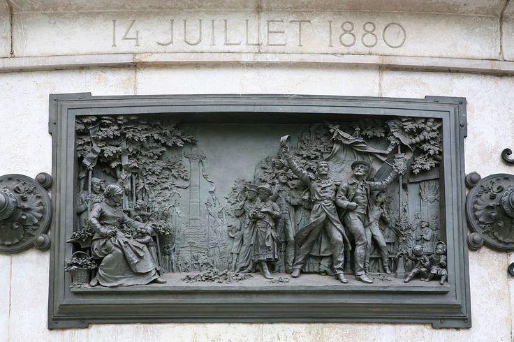 20 septembre 1792-Bataille de Valmy/21 septembre 1792-Proclamation de l'abolition de la royauté/13 prairial an II 1er juin 1794-Bataille du 13 prairial an II/29 juillet 1830-Trois Glorieuses/4 mars 1848-Décret d'abolition de l'esclavage/4 septembre 1870-Proclamation de la République/14 juillet 1880-Première fête nationale
