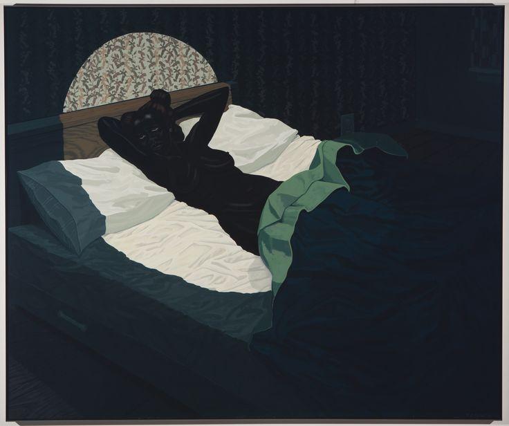 Kerry James Marshall, Nude (Spotlight), 2009
