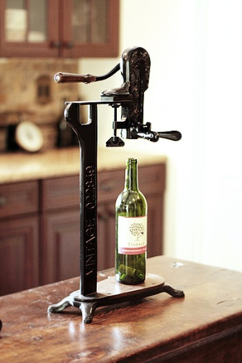 *Wine Opener (Pottery Barn)...I need this. I have so much trouble opening wine bottles.